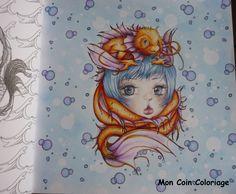 Manga Coloring Book, Mermaid Coloring Book, Coloring Books, Camilla, Manga Mermaid, Pop, Sea Creatures, Mermaids, Gypsy