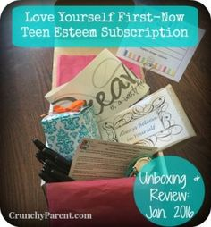 Love Yourself First-Now: Subscription Unboxing & Review-January 2016-Crunchy Parent #teen #tween #girls