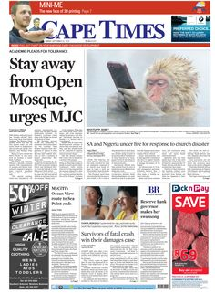 News making headlines: Stay away from open Mosque, urges MJC