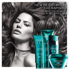 Connect to Therapiste by Kerastase. For purchase @Salon Maddison.
