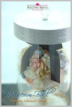 *New* Museum Ball ---ディプロマコース  Rachel Berry 東横線・目黒線 横浜 日吉のプリザーブド&アーティフィシャルフラワー教室&オーダー Ameba (アメーバ)
