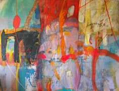 Primavera I  140x180cm  a s tela Luis Altieri