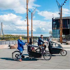 #Repost @our_little_adventures      Dwa rodzinne odrzutowce  Nasz holenderski @dollybikes_polska i nowa polska konstrukcja @storkcargobike - jak myślicie który wygrał nasz #cargobike challenge?   Więcej już niedługo na blogu a teraz możecie podejrzeć trochę na instastories   #ourlittleadventures #rowerowarodzina #rowerowawarszawa #bikesbikesbikes #bikelife #cargobikes #bikefa Challenge, Adventure, Instagram, Fairytail, Fairy Tales