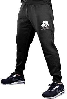 USMC Marine Corps Anchor Boys Sweatpants Open-Bottom Boys Fleece Pants Black