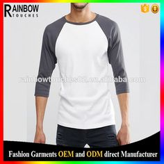 Check out this product on Alibaba.com App:wholesle men blank custom mid raglan sleeves t shirt https://m.alibaba.com/BVJzYz