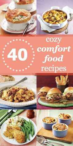 Comfort food recipes: 40 easy and affordable winter comfort foods to try