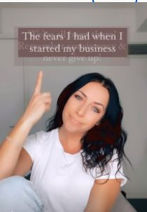 The fears I had when I first started my business. 🤍 We've all been there, remember consistency & never give up! Consistency, Never Give Up, Business Tips
