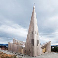 Knarvik Community Church by Reiulf Ramstad Arkitekter