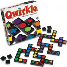 Green Board Games Qwirkle from BrightMinds