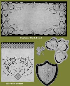 Iva Rose Vintage Reproductions - Weldon's 2D #365 c.1915 - Broderie Anglaise, Second Series