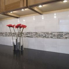 Modern Kitchen Backsplash 40 striking tile kitchen backsplash ideas & pictures | taupe