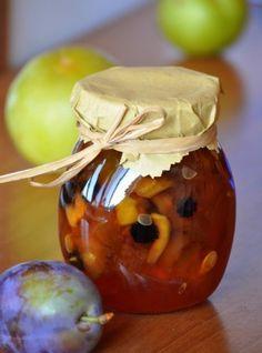 Помидоры с синими сливами - находка зимой » Кулинарные рецепты с фотографиями от Жрать.ру