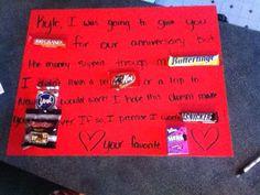 Cute boyfriend gift ideas made by myself Super easy and cute