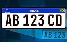 HORA DA VERDADE: ATUALIDADE: Nova placa de veículos, previstas para...