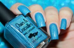 "Swatch of the nail polish ""City in The Clouds"" from Chaos & Crocodiles by diamant sur l'ongle http://diamantsurlongle.blogspot.fr/2016/01/swatch-chaos-and-crocodiles-city-in-the-clouds.html"