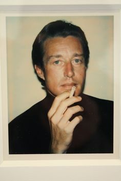"""""""BIG SHOTS ANDY WARHOL POLAROIDS OF CELEBRITIES"""" at Danziger Projects, NYC - Roy Halston Frowick"""
