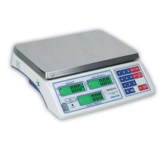 """Detecto Scale Price Computing - DS-12  Scale, Price Computing, digital display front & back, displays weight, unit price and total price, A/C power, built-in rechargeable battery, 12 lb x .005 lb. capacity, s/s platform, baked enamel housing, dust cover, legal for trade, 120v (Category """"A"""" item) Kitchen Measuring Tools, Kitchen Tools And Gadgets, Produce Market, Professional Kitchen, Ds, Home Kitchens, Kitchen Utensils, Hardware Stores, Kitchen Scales"""