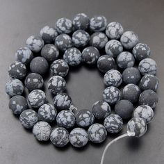"5Strands/Lot Matte Frosted 8mm Natural Gems Stones Round Spacer Loose Beads 15.5"" Diy Jewelry Making Wholesale-in Beads from Jewelry on Aliexpress.com 