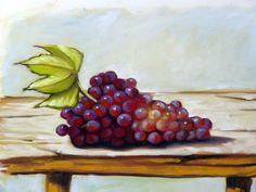 Como Pintar  : Uvas