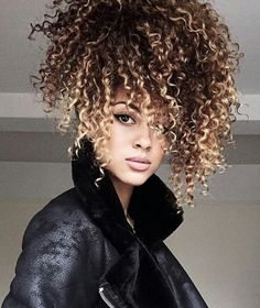 Love the curls and the color