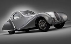 The Bugatti Type 57SC Atlantic may be the most iconic of the Art Deco-era French teardrop coupes