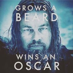 grow a beard for you first, recognition, wisdom, and wizard powers second