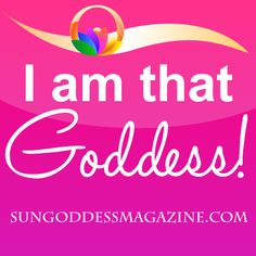 I can and I will! Share if you are a SunGoddess! Brought to you by SunGoddess Magazine: Igniting the Powerful Goddess WIthin http://sungoddessmagazine.com