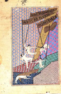 Francesco Clemente: Francesco Clemente Pinxit  (1981)  Gouache on antique paper  8 3/4 x 6 in