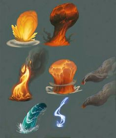 Elemental reference, fire