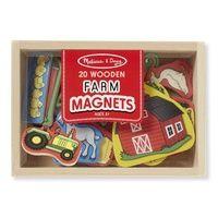 Melissa & Doug - Wooden Farm Magnets - 20pc