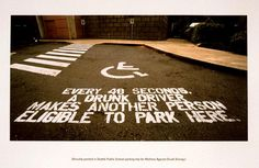 GUERRILLA PARKING, Mothers Against Drunk Driving