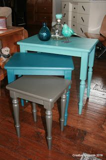 nesting trio diy home decor painted furniture painting repurposing upcycling Home Decor Bedroom, Decor, Nesting Tables, Furniture Makeover, Refurbished Furniture, Diy Furniture, Furniture Inspiration, Home Furniture, Home Decor Tips