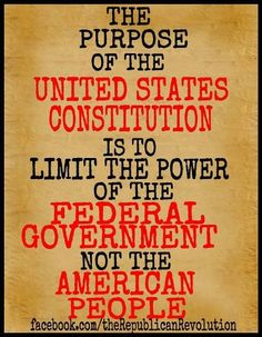 The Constitution does not grant you rights, it recognizes that you are born with them and you can protect yourself from any government that tries to take them away.