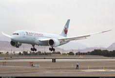 Air Canada Boeing 787-8 C-GHQY c/n 35264 McCarran International Airport April 25, 2015 Photo by: TarmacPhotos.com