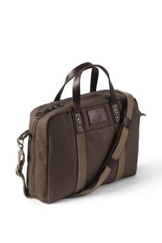 Try our Waxed Canvas Briefcase at Lands  End. Everything we sell is  Guaranteed. 22f6b07a592d7