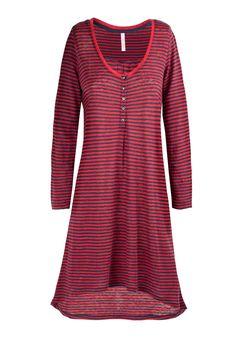 STRIPED DRESS RED #SUN68 #SS17 #woman #dress #stripes #elegance