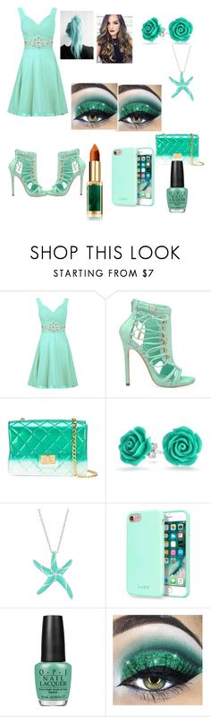 """Date Night"" by arianna-mitchell-1 on Polyvore featuring Privileged, Design Inverso, Bling Jewelry, Laut and OPI"