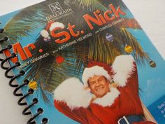 VHS Notebook 3.75 X 7.25 50 pages Mr. St.Nick Christmas