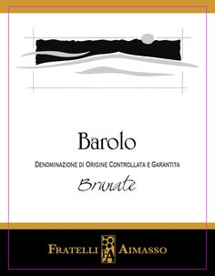 Aimasso Barolo Brunate 2010 Red Berries, Wine, Red Currants
