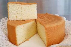 6 Basic Sponge Cake Recipe, Sponge Cake Easy, Vanilla Sponge Cake, Basic Cake, Sponge Cake Recipes, Easy Baking Recipes, Easy Cake Recipes, Cooking Recipes, Tapas