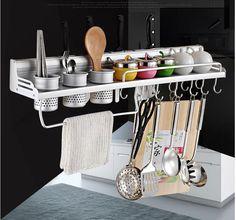 Kitchen Knife Dish Cup Drying Rack Wall Mounted Rack   Home & Garden, Kitchen, Dining & Bar, Kitchen Storage & Organization   eBay!