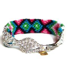 Updated friendship bracelet...it's different, I like it.
