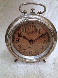 Sweet French clock FleaingFrance Brocante