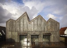 Kaap Skil Maritime and Beachcombers Museum by Mecanoo in Oudeschild, on the island of Texel