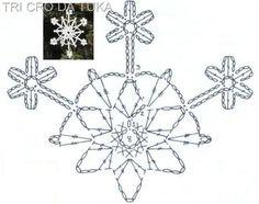 Deia Klier - Crafts: Snowflakes v háčkování a háčkování domácí recept tvrdit!