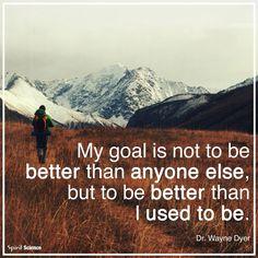 Self improvement goal