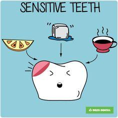 Keep your teeth safe with a few simple tips! Sensitive teeth can be happy too! #deltadental #sensitiviteeth