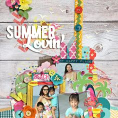 - set 166 by cindy schneider  - summer lovin' by jady day studio and penny springmann