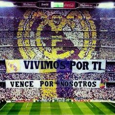Un Mosaico que dice todo Best Football Team, Football Art, Ultras Football, Santiago Bernabeu, Sports Magazine, Isco, Spain, Soccer Stuff, Rey