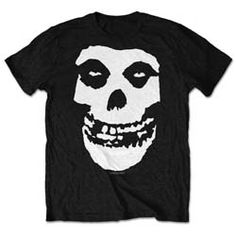 One of punk rock's most enduring images was actually plagiarised. In Misfits frontman Glenn Danzig saw the skull on a poster for the film 'The Crimson Ghost' and decided to use it himself. The Misfits, Misfits Band, Misfits Series, Metal Band Logos, Metal Bands, Ds Xl, Classic Rock, Skulls, 1970s